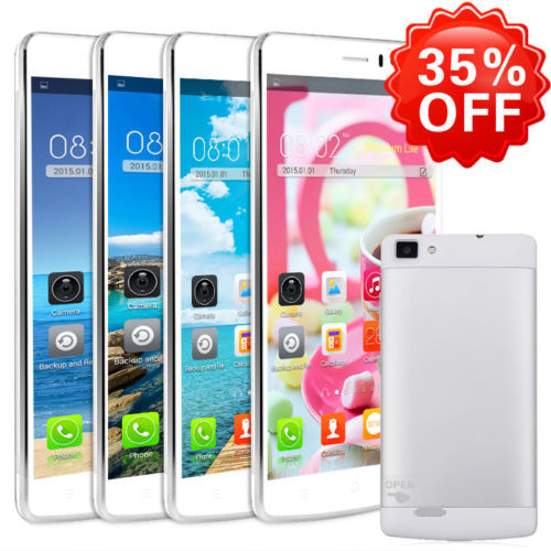 """5.5"""" Smartphone Android 4.4.2 mobile phone MTK 6572 Dual Core Dual Sim 3G GSM GPS Unlocked Straight Talk AT&T(China (Mainland))"""