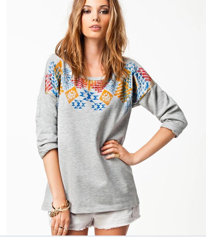 grey color plus size m l xl xxl xxxl women t shirt casual