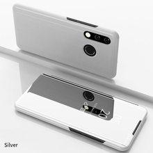 Funda con tapa de espejo inteligente para Huawei P20 P30 Lite Pro Y9 Y6 P Smart 2019 Mate 20 lite para honor 20 10 9 Lite 8X 7A 7C casos(China)