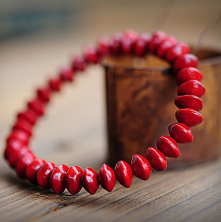 Wholesale Tibet Jewelery Natural Blood Bodhi Prayer beads Buddha Bracelet 8mm Women Gift Religion Charm Fashion Joker