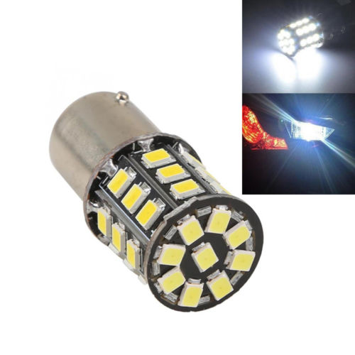 1 X App40 mm White 1156 BA15S 1073 1093 1129 1141 12V LED AX-2835 SMD Car Turn Signal Tail Light Bulb DC 12V 3z34(China (Mainland))