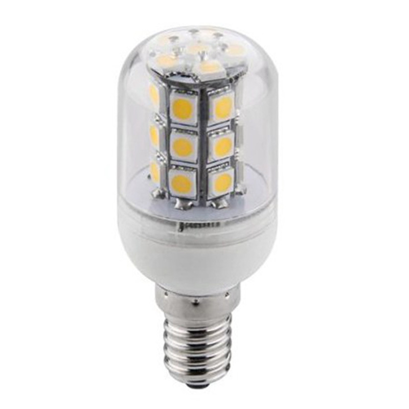 Top Quality E14 4W 27 5730 SMD Energy Saving Pure Warm White LED Corn Spot Light Lamp Bulb AC/DC24V(China (Mainland))