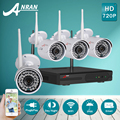 ANRAN 720P HD Outdoor IR Night Vision Home Video Surveillance Security IP Camera WIFI CCTV Kit