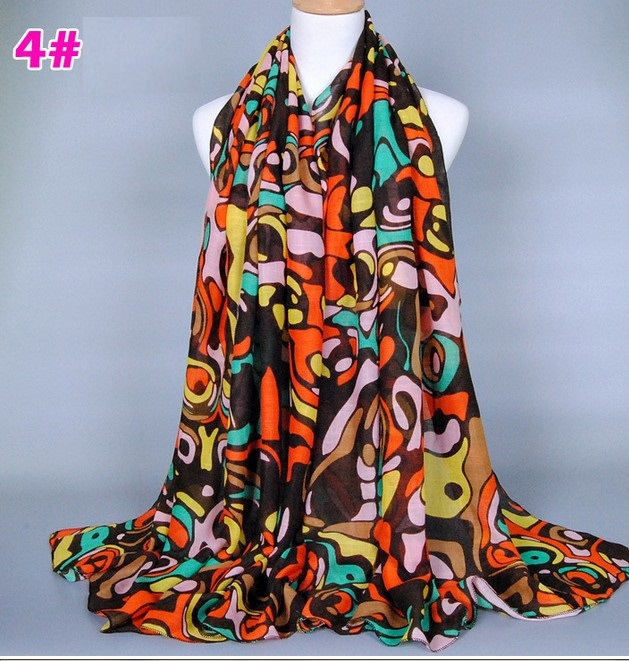 Hot Sale Free shipping cotton viscose printing scarf Floral Shawl Cheap Muffler Hijab Muslim Head Wrap Best selling Long Shawls(China (Mainland))