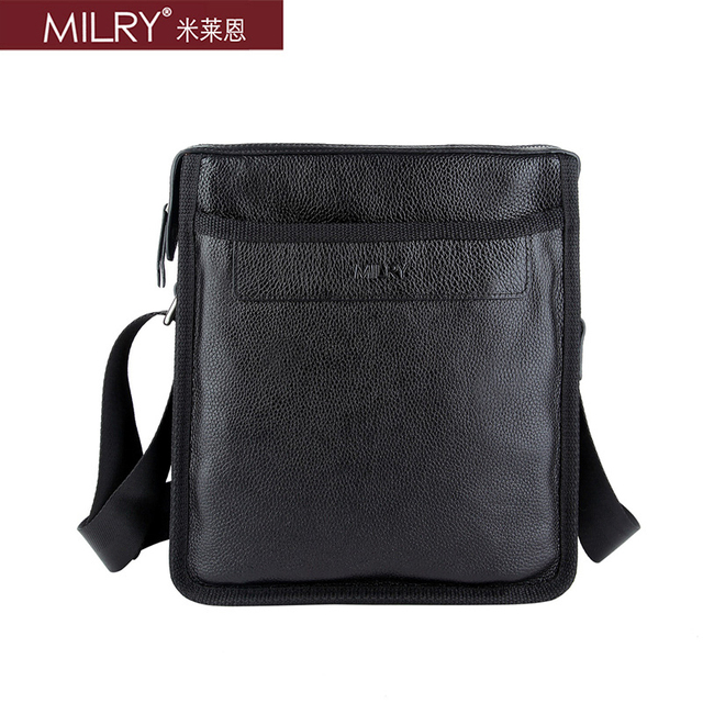 2014 Fashion Brand New 100% Genuine Leather shoulder bag for men Messenger Bag cross body real cow leather bag CS0001