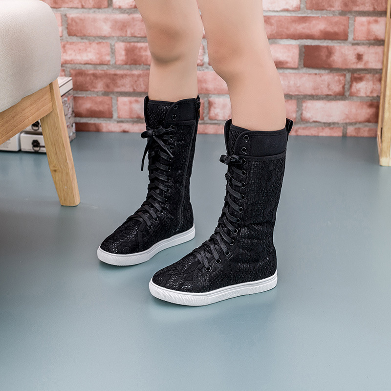 hot selling 2015 fashion winter new models plus velvet big children girls boots knight boots autumn boots tide(China (Mainland))