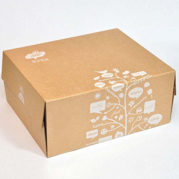 Small plain eco friendly natural brown kraft paper for Eco boxes