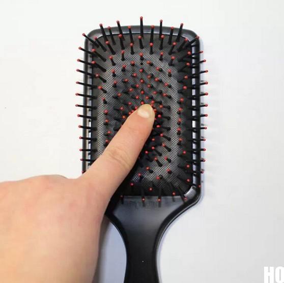 New 2014 Professional Healthy Paddle Cushion Hair Loss Massage Hairbrush Comb Scalp(China (Mainland))