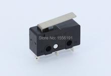 10 шт. предел переключатель 3pin N / on / C 5A250VAC микровыключателем KW11-3Z Mini микро-карты переключатель продаж