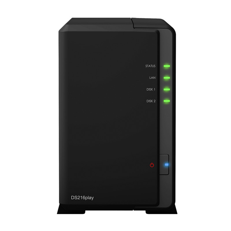 New presale ! Synology network storage DS216play 2-bay of a NAS server ,Dual Core 1.5 GHz , 1 GB DDR3(China (Mainland))
