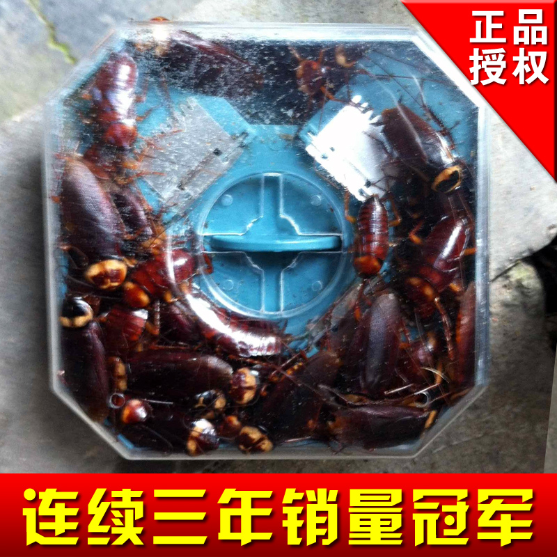 Cockroach control Large cockroach catcher granule catchfly cockroach control trap eco-friendly(China (Mainland))