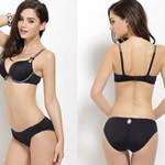 NEW-2015-Top-Quality-100-Cotton-Bra-brief-Set-Women-Underwear-Sexy-VS-Push-Up-Bra (1)