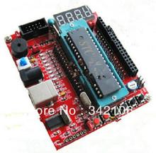 Free Shipping!!! 51 SCM minimum system board / development board smart car essential (Support AVR)(China (Mainland))
