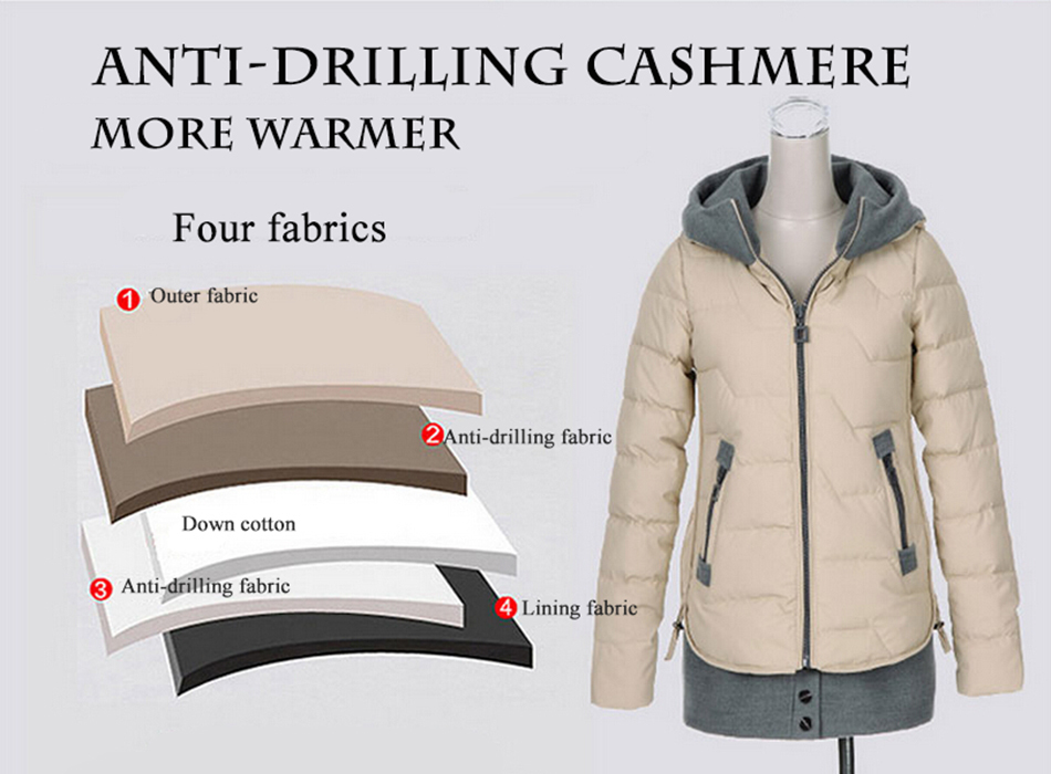 Winter Down Coats For Женщины 2015 Thicken Warm Slim Длинный Stitching Женщины's Белый Duck Down Jackets Coats FeМиниno Parka Y340