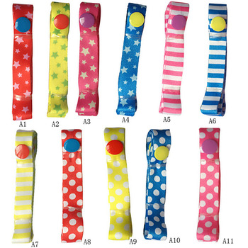 1pc Baby Bottle Strap Holder 52cm Stroller Toys Rope Teethers Pacifiers Toys Cups Anti-lost Strap Colorful Accessories VCH35 P40