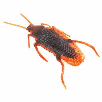 20Pcs/lot Life-like Fake Roach Blackbeetle Cockroach Trick joke toy #6743