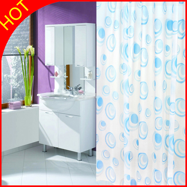 Water Resistant Bathroom Window Curtains. Image Of White ...