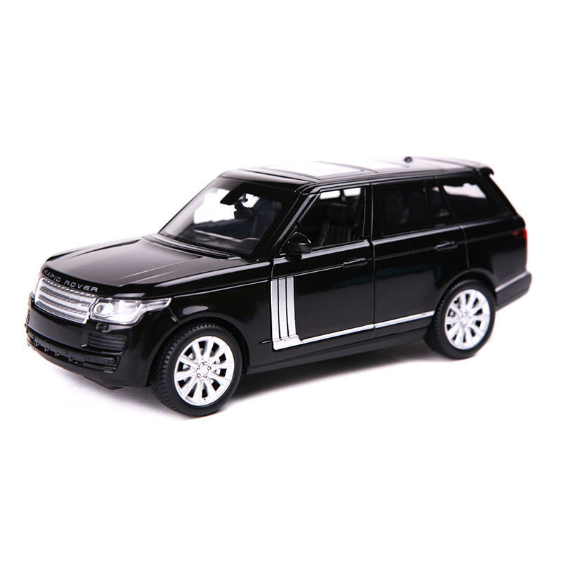 Mini collectible Car Models Range Rover Alloy Diecast Car Model Toy Vehicles Electronic Car With Light&Sound Gift for Kids(China (Mainland))