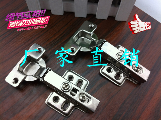 Factory direct sale: authentic stainless steel ambry chest damping hydraulic buffer fast loading measures hinge door hinge