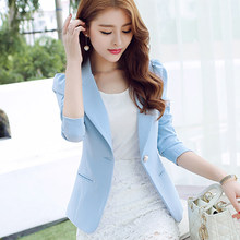 Buy 2017 Autumn Jackers Women Blazers Korean Style Clothes Female Cultivating Wild Long-sleeved Small suit Women Blazers Jackets for $23.31 in AliExpress store