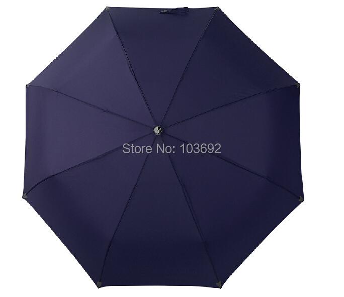 2015 Fully Automatic Umbrella large 3 Fold Umbrella UV sun rain shine dual use umbrellas men