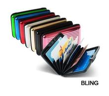 20pcs/lot New Hot Sale Aluminum Aluma Wallets Credit Card Holders Free CN Post Shipping Wholesale OPP Bag Pkg Only $35.99(China (Mainland))