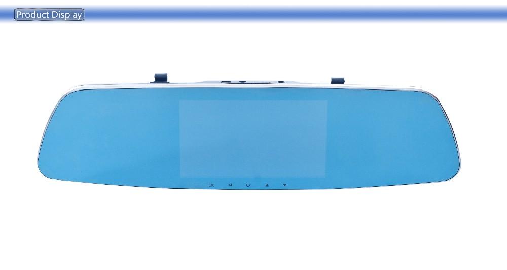 Купить ADDKEY камеры автомобиля Новатэк 96655 зеркало заднего вида автомобилей видеорегистраторы с двумя объективами full hd 1080 P видеорегистратор 140 градусов 5 дюймов dvr тире cam