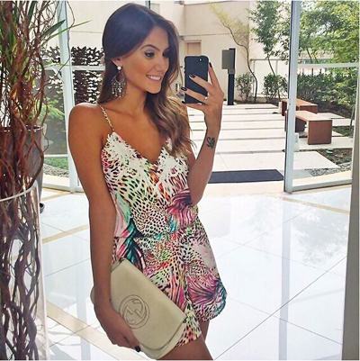 Print Luxury Women Dress Summer 2015 Casual Mini Women Dresses V-Neck A-Line Cotton Polyester Manufacture Free Shipping sw0003(China (Mainland))
