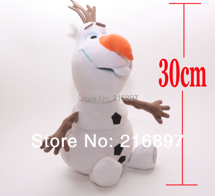 2015 Brinquedos Olaf New Arrival 30cm Snowman Olaf Plush Toys Dolls & Stuffed Toys Dolls & Accessories(China (Mainland))