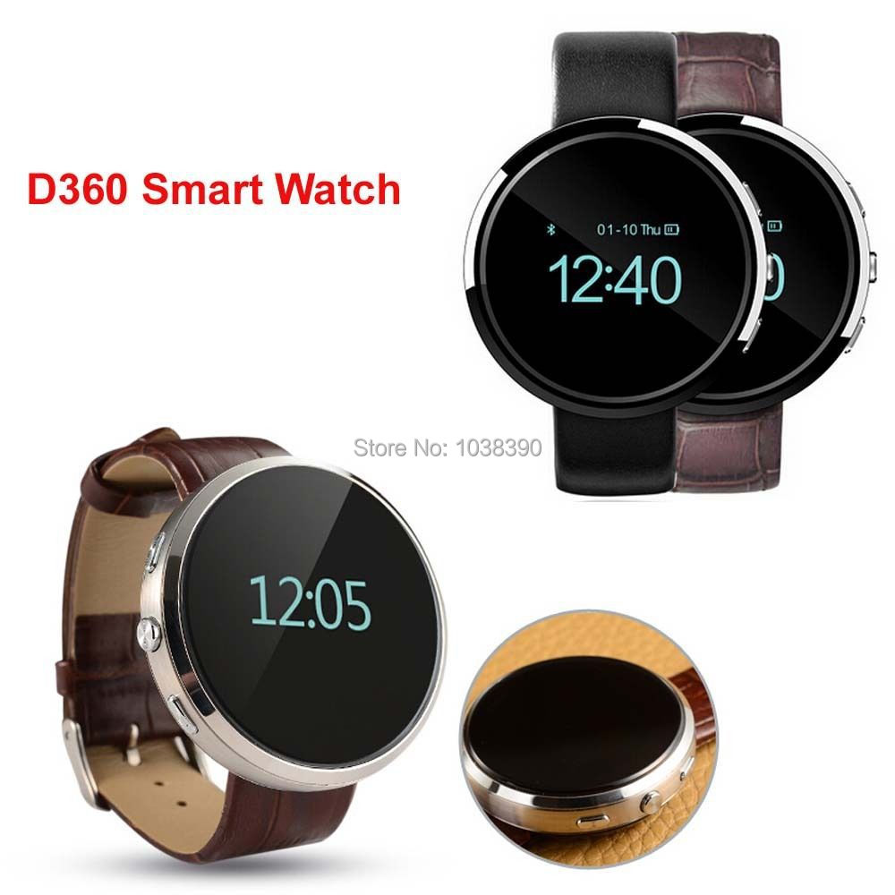 Bluetooth Smart Watch Android Smartwatch D360 Sleep Tracker Sync Phonebook Call SMS Remote Camera Digital Watch(China (Mainland))