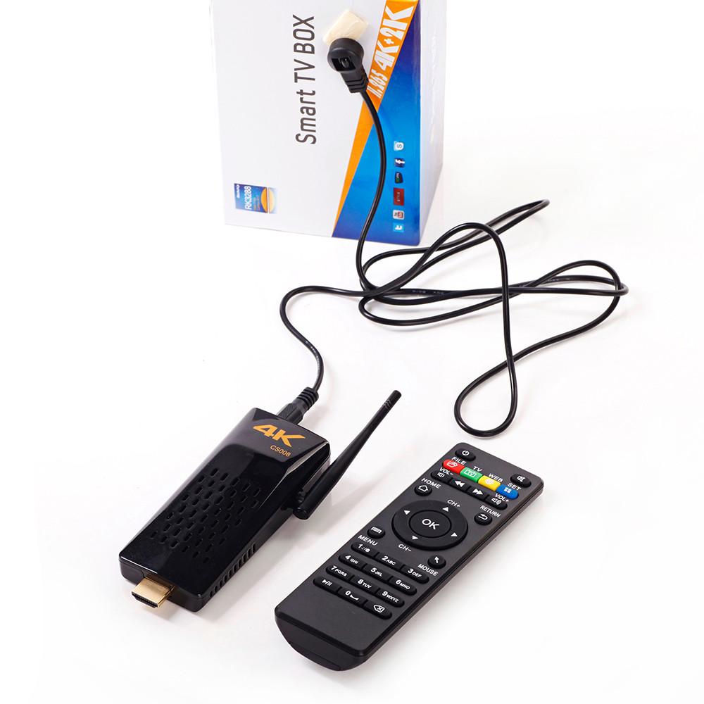 ถูก Lymoc CS008ทีวีกล่องAndroid 4.4 RK3288 Cortex-A17 Quad Coreทีวีติด2กิกะไบต์/8กิกะไบต์Android TV Set Topกล่องรวมถึงระยะไกลควบคุม