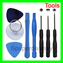 8 in 1 REPAIR PRY KIT OPENING TOOLS With 5 Point Star Pentalobe Torx Screwdriver For APPLE IPHONE iphone4 4G