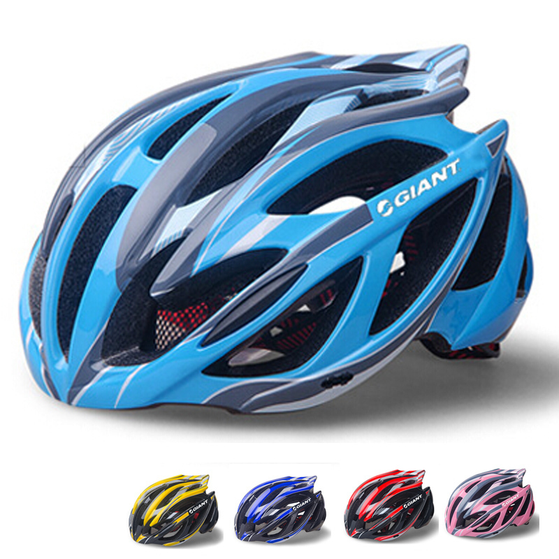2015 New Giant Sport Bicycle Helmets Ultralight Unisex Professional Bike Helmet Specialized Night Light Cycling Helmet H5021(China (Mainland))
