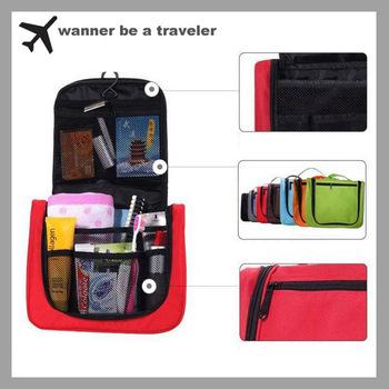 Fashion Lightweight  Toiletry  Women  Travel  Bag Cosmetic Make Up Storage Purse Zipper Organizer  Bag