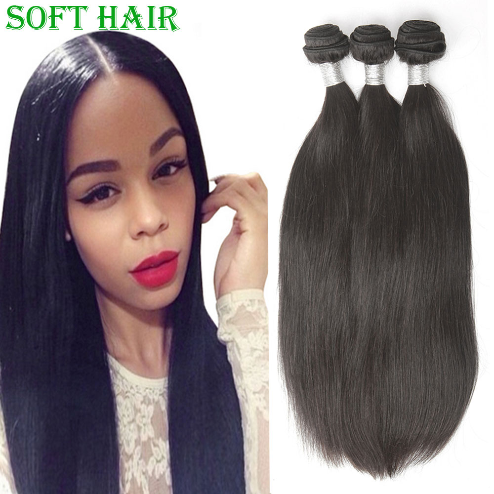 Best Seller Indian Virgin Hair Weaves 3pcs lot Indian Straight Hair Bundles 100% Human Hair Extension Soft Hair Product On sale(China (Mainland))