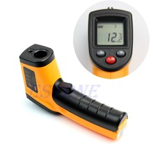 Free Shipping Nice Non-Contact LCD IR Laser Infrared Digital Temperature Thermometer Gun