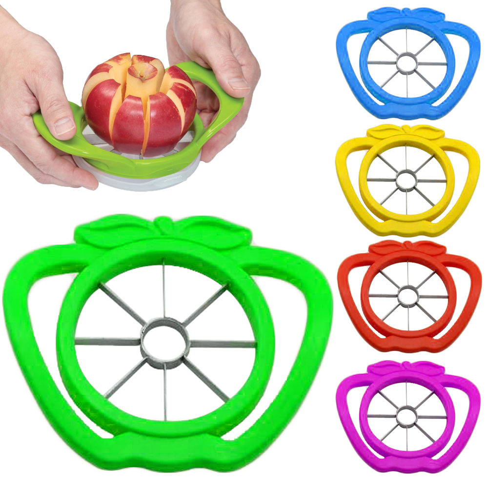 Apple cutter knife corers fruit slicer Multi-function ABS+ stainless steel kitchen cooking Vegetable Tools Chopper(China (Mainland))