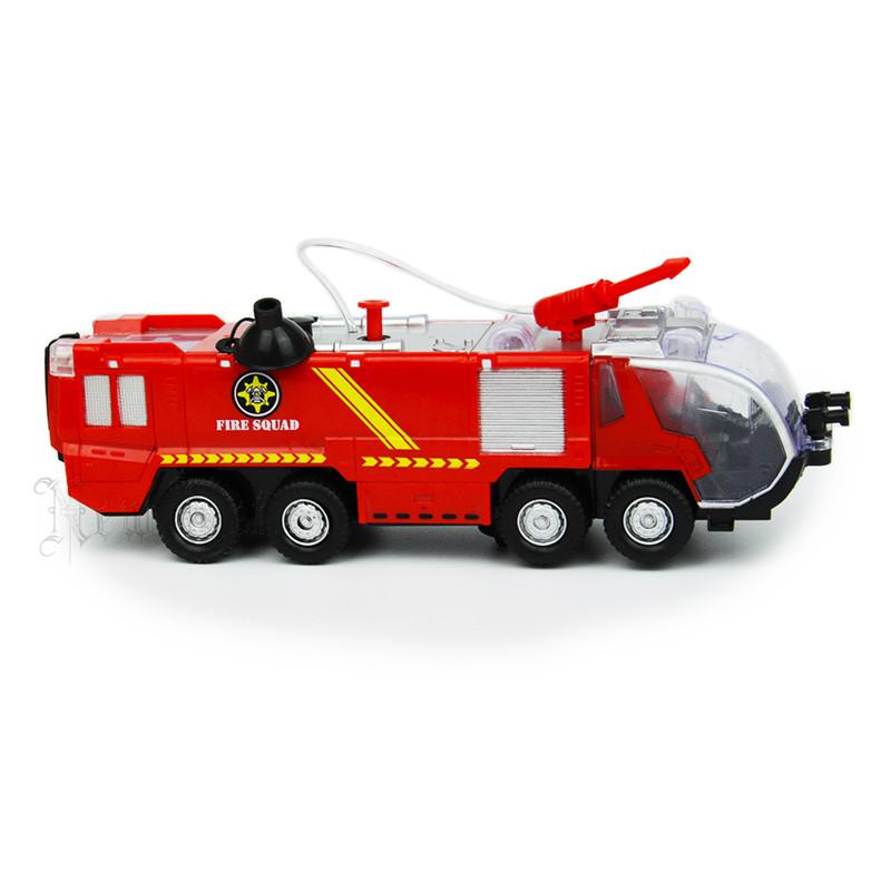 Children's Toys Wholesale Electric Universal Fire Sprinkler Car Simulation Music Light  Selling Goods