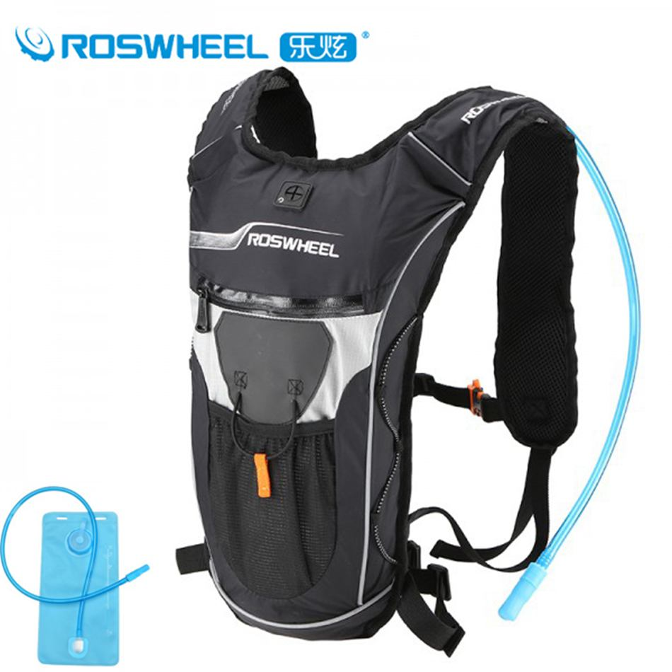 Roswheel Bicycle Hydration Backpack Bike Waterproof Nylon Cycling Ultralight Sport Riding Travel Mountaineering Bag 9L - hongbaby Store store