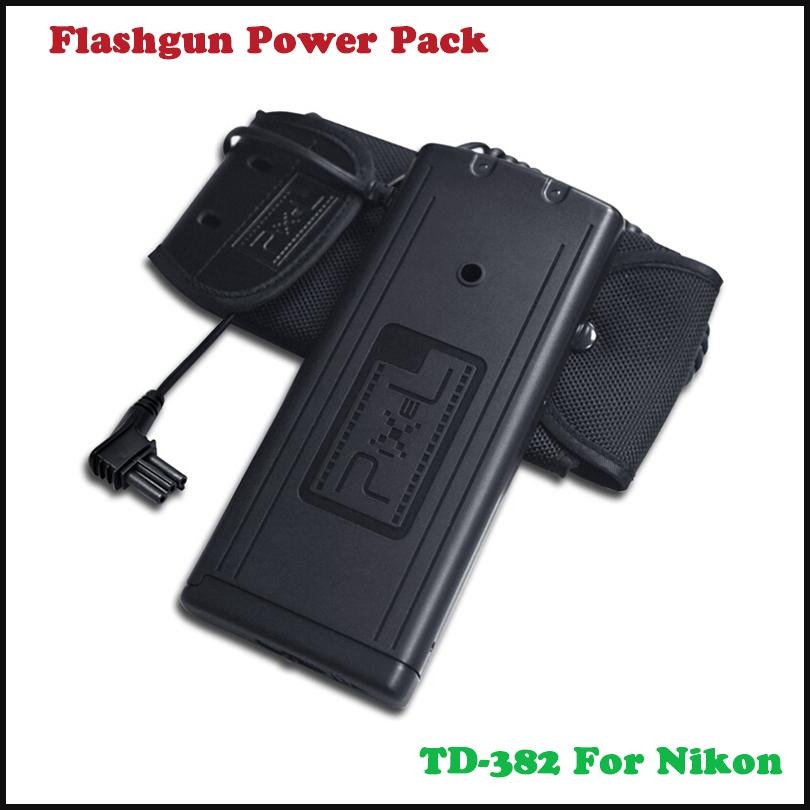 PIXEL 8xAA Flash Power Battery Pack For Nikon SB-900 SD-9 SD-9A<br><br>Aliexpress