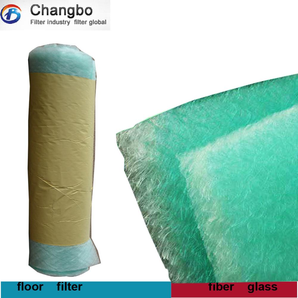 Fiber glass filter/Spray booth filter for compressor dryer(China (Mainland))