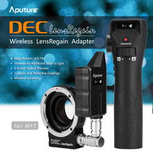 Buy Aputure DEC LensRegain Wireless Follow Focus Focal Reducer Lens Adapter Canon EF Lens MFT Micro Four Third Mount Camera for $654.59 in AliExpress store