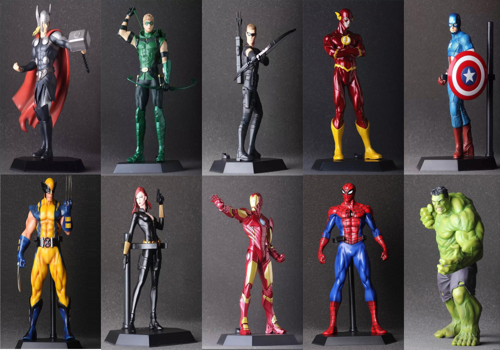 10 style The Avengers 2 Hulk Iron Man Deadpool Captain America Thor Spiderman PVC Action Figure Collection Model in Box(China (Mainland))