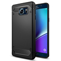 100 Original SGP Rugged Armor Case for Galaxy Note 5 Drop Resistance Soft TPU Back Cover