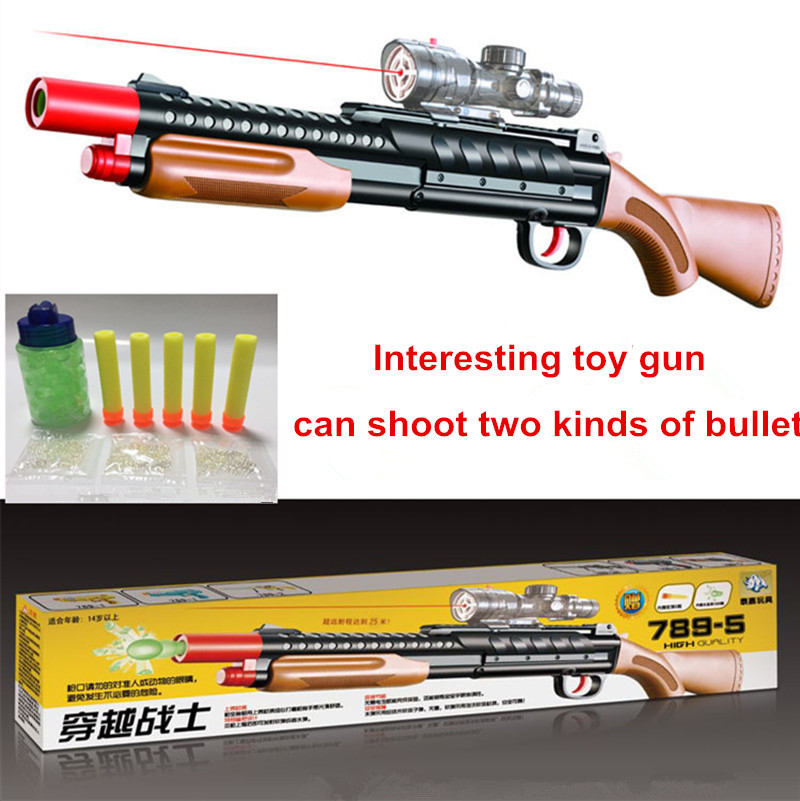 Гаджет  Free Shipping 2015 Hot Sale Toy Gun Soft Foam Bullet Pistol Nerf Guns Absorbed-Water EVA Bullet Airgun Gift For Boy None Игрушки и Хобби