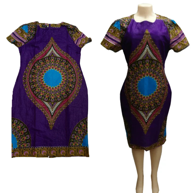Ptm Images 12 In X 12 In The Color Purple Laminated: African Clothing Hippie Top Caftan Boho,one Piece Dashiki