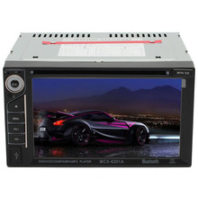 """Brand New High Quality 2 Din 6.2"""" HD In Dash Stereo Car Touch Screen Radio Bluetooth MP3 CD DVD Player(China (Mainland))"""