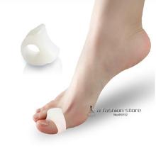 2 pcs Bunion Toe Separator Foot Care Tool Gel Hallux Valgus Correction Separators Valgus Pro Stretchers Bone Thumb Protector(China (Mainland))