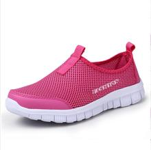 2015 New women shoes for women Summer fashion Casual Shoes Woman Network Soft Breathable Shoes Drop zapatillas deportivas mujer