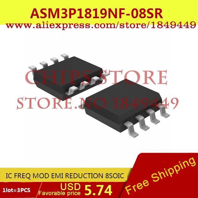 Бесплатная Доставка Integrated Circuit ASM3P1819NF-08SR IC FREQ MOD EMI СОКРАЩЕНИЯ 8 SOIC 3P1819 ASM3P1819 3 ШТ. cx9162b 3 3 voltage stabilization integrated circuit ic black 1000 pcs